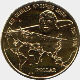 1997-S  One Dollar reverse