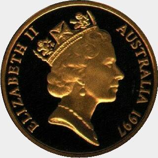 1997-S  One Dollar obverse
