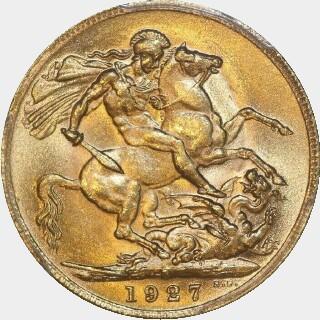 1927-P  Full Sovereign reverse