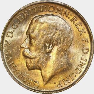 1927-P  Full Sovereign obverse