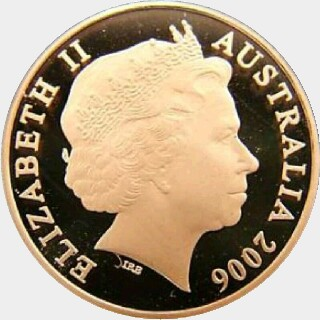 2006 Gold Proof Two Cent obverse