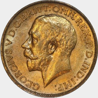 1916-P  Full Sovereign obverse