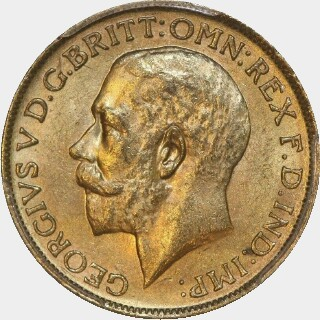 1925-M  Full Sovereign obverse