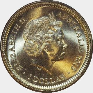2013-C  One Dollar obverse