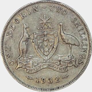 1932  Florin reverse