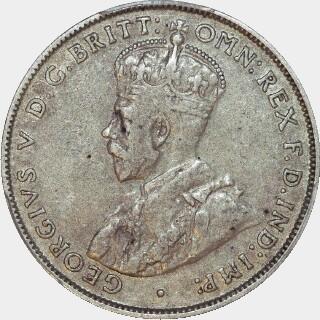 1932  Florin obverse