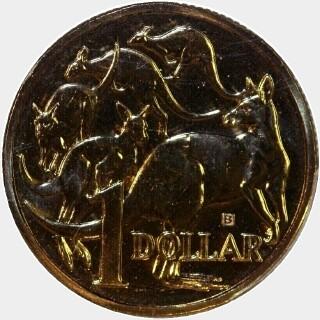 2015-B  One Dollar reverse