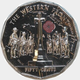 2014  Fifty Cent reverse