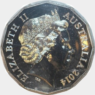 2014  Fifty Cent obverse