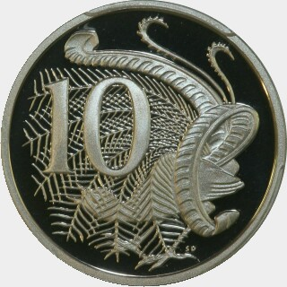 1994 Proof Ten Cent reverse