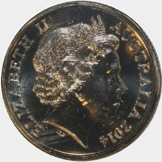 2014-P  One Dollar obverse