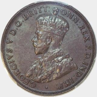 1920 Double Dot Penny obverse