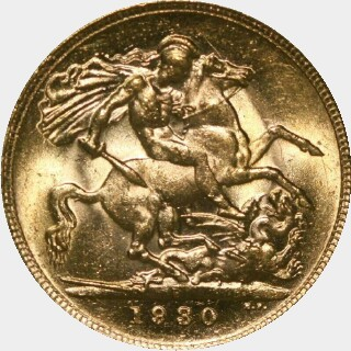 1930-P  Full Sovereign reverse