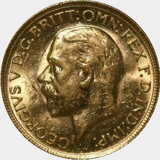 1930-P  Full Sovereign obverse