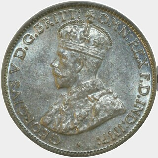 1936  Sixpence obverse