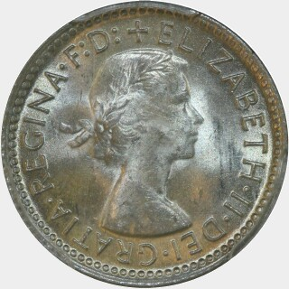 1956  Sixpence obverse