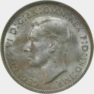 1946  Sixpence obverse