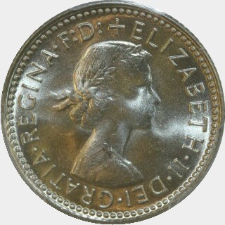 1957  Sixpence obverse