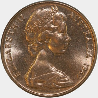 1969  Two Cent obverse