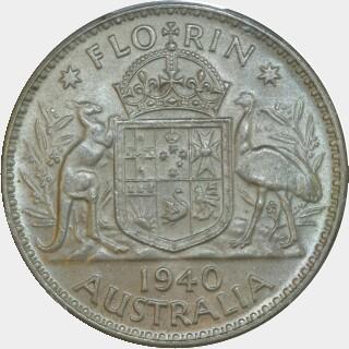 1940  Florin reverse