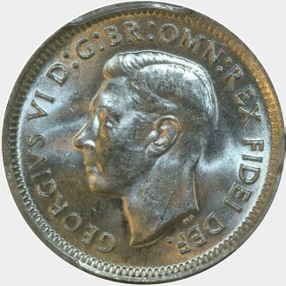 1951  Sixpence obverse