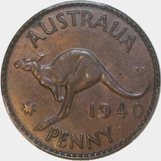 1940 K.G Penny reverse