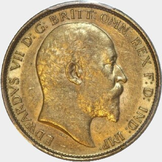 1907-M  Half Sovereign obverse