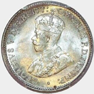 1918-M  Threepence obverse