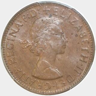 1959-Y  Penny obverse