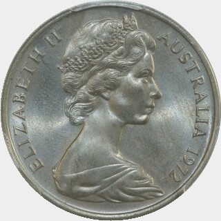 1972  Twenty Cent obverse