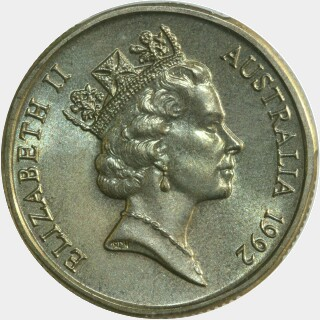 1992  One Dollar obverse