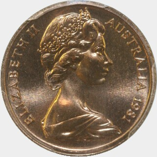 1981  One Cent obverse