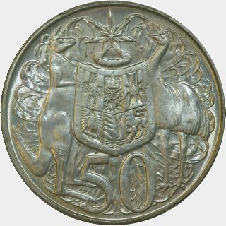 1966  Fifty Cent reverse