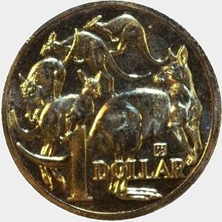 2015 Ampelmann One Dollar reverse