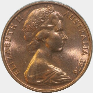 1976  Two Cent obverse