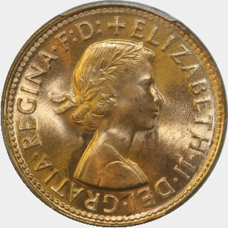1959  Half Penny obverse