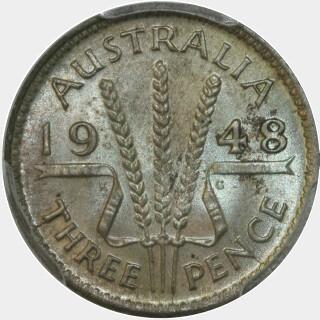 1948  Threepence reverse