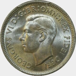1951-PL  Sixpence obverse