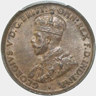 1929  Half Penny obverse