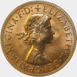 1959-Y Proof Penny obverse