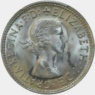 1958  Shilling obverse