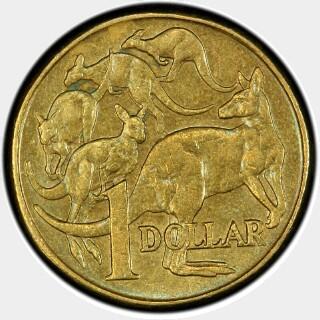 2000 Mule One Dollar reverse