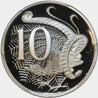 2004 Proof Ten Cent reverse