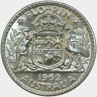 1962  Florin reverse