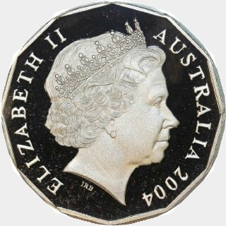 2004 Proof Fifty Cent obverse