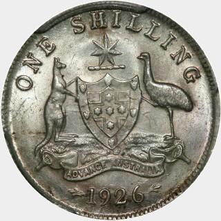 1926  Shilling reverse