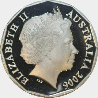 2006 Proof Fifty Cent obverse