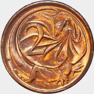 1981 Sans SD Two Cent reverse
