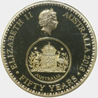 2016 Proof One Dollar obverse