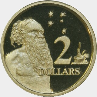 1993 Proof Two Dollar reverse